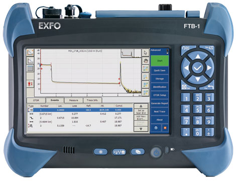 Exfo Ftb 1 Otdr Telecom Rental Equipment Fiberoptic Com
