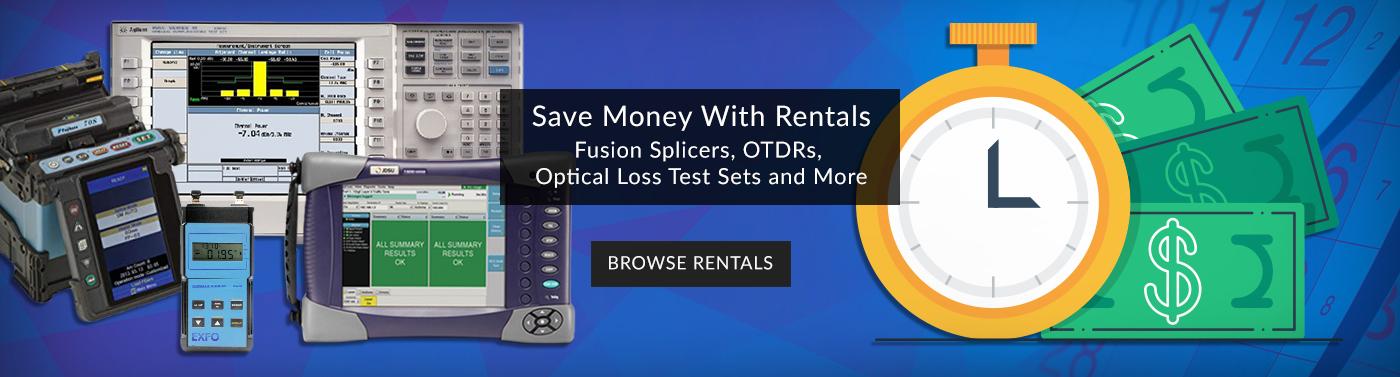 Fiber Optic Rentals