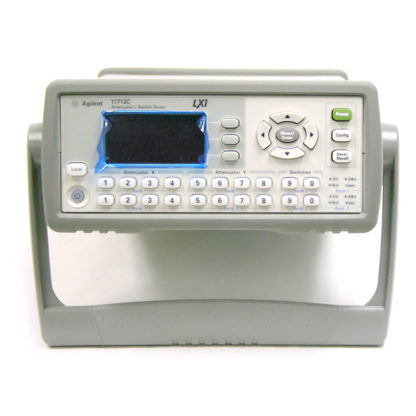 Keysight 11713C LXI-Compliant Attenuator/Switch Driver